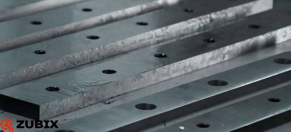 Качественное изготовление гильотинных ножей